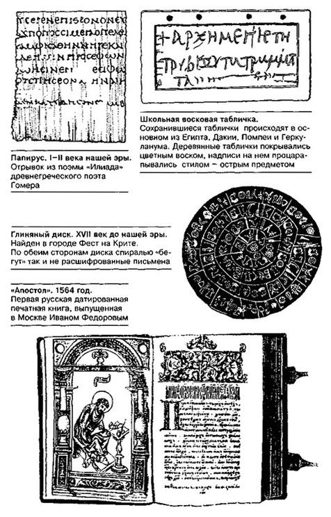 Реферат история средств хранения информации 455