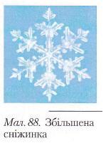 Збільшена сніжинка