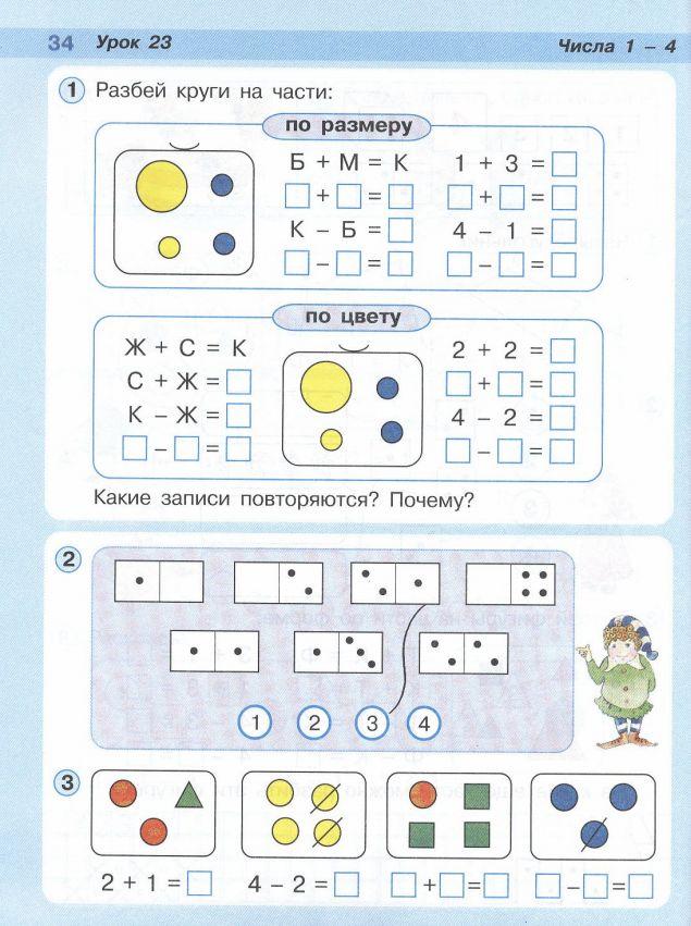 конспект урока нахождение части числа 4 класс петерсон