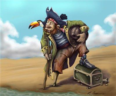 Якось в шинок «адмірал бенбоу