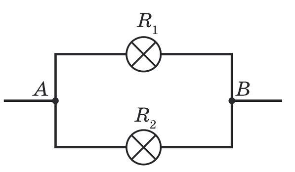 Сила струму при такому підключенні