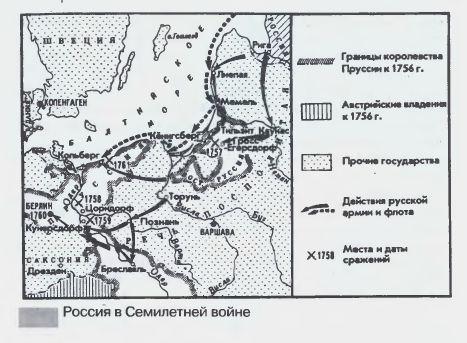 Россия в Семилетней войне