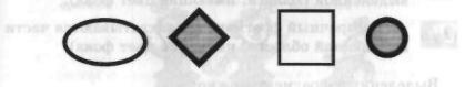 Инструменты Прямоугольник, Эллип, Многоугольник и Скругленный прямоугольник