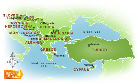 мы знакомимся с субрегионами и странами зарубежной европы