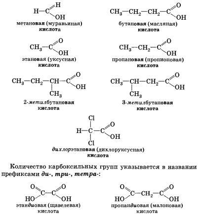 Карбоновые кислоты (Химия 10 класс) — Гипермаркет знаний