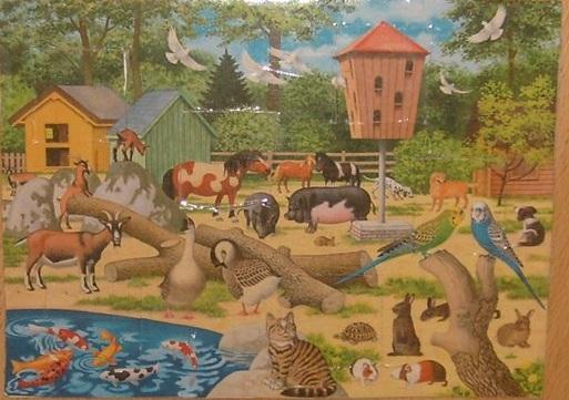 Домашні тварини шпаргалки