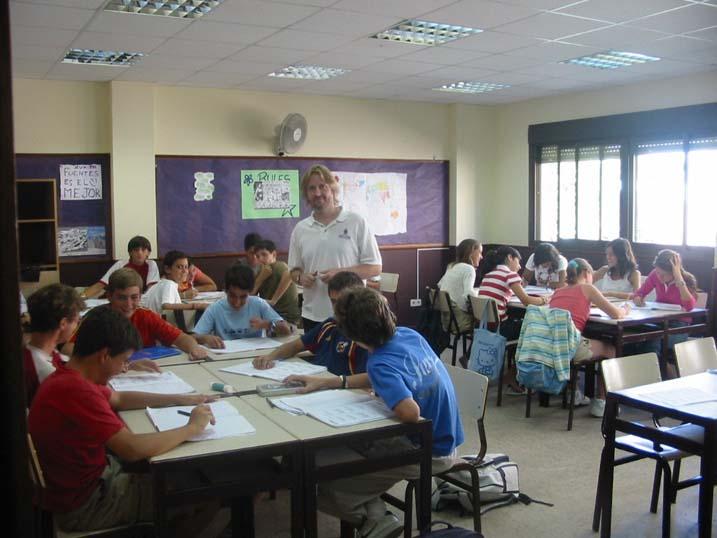 Урок в школе. Фото с rector.ru.