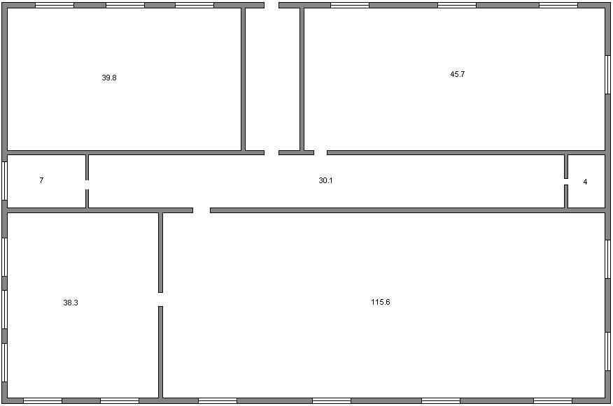 Схема помещения компьютерного
