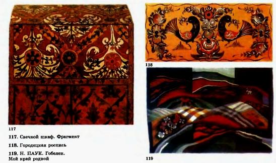 Палехская роспись рисунки