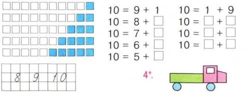 Чисел у межах 10 порівняння чисел