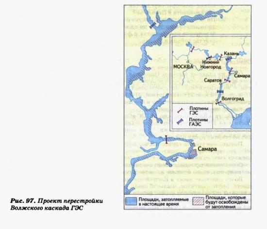 Проект перестройки Волжского каскада ГЭС