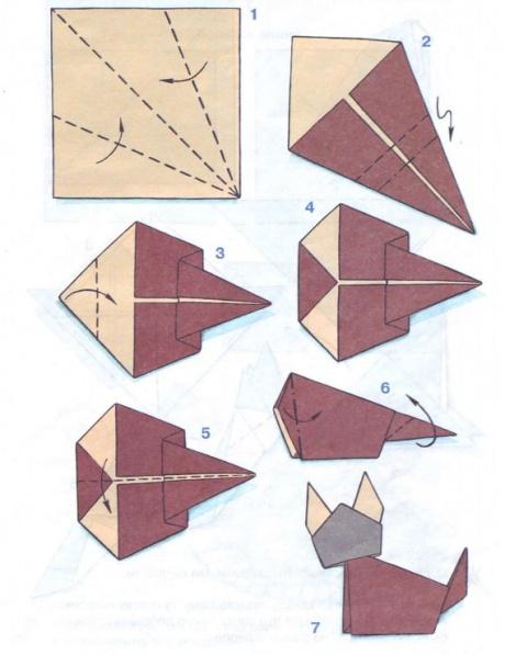 Что можно сделать из оригами